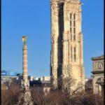 Les Parisiens retrouvent la Tour Saint Jacques