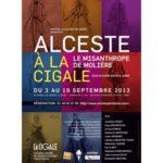 Le Misanthrope de Molière à La cigale : un grand classique , des textes  immuables….de bons comédiens ….
