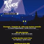 Nuit Blanche ,samedi  5 octobre 2013, et  les transports à Paris