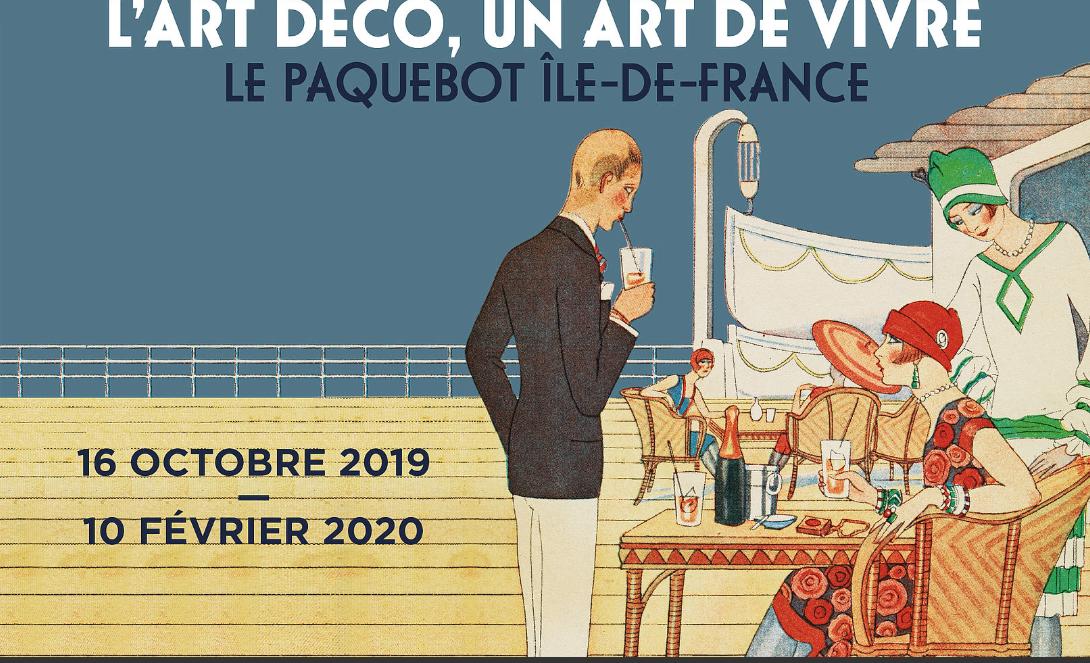 Le paquebot Île-de-France s'ancre au musée des Années 30 à Boulogne