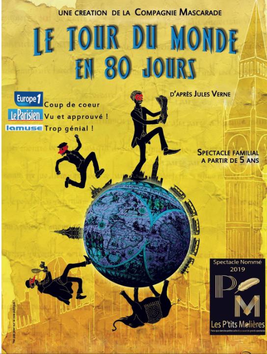 Le Tour du Monde en 80 jours par la compagnie Mascarade