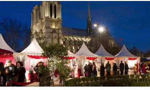 Marché de Noël Paris Notre Dame: 13 au 29 décembre 2019