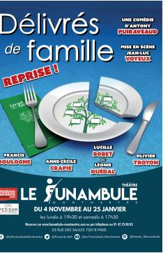 Délivrés de famille …au Théatre du Funammbule