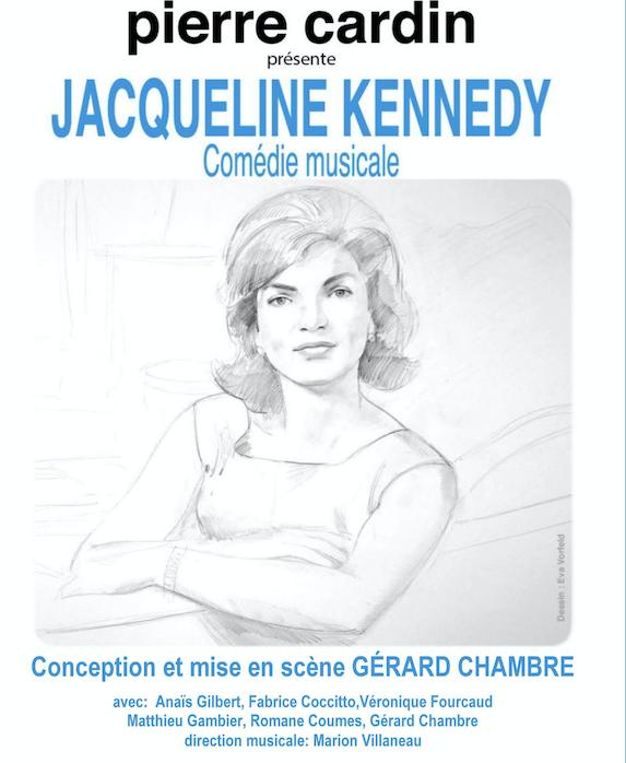 Une soirée  DIVERTISSANTE au Théatre Maxim's avec Jackie Kennedy