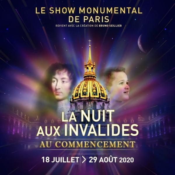 La nuit aux Invalides, un très beau spectacle à 22h