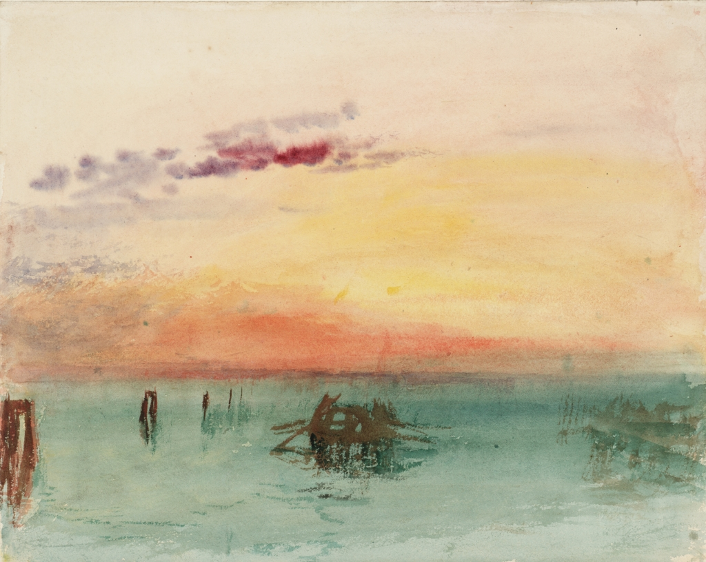 Turner, peintures et aquarelles au musée Jacquemart- André