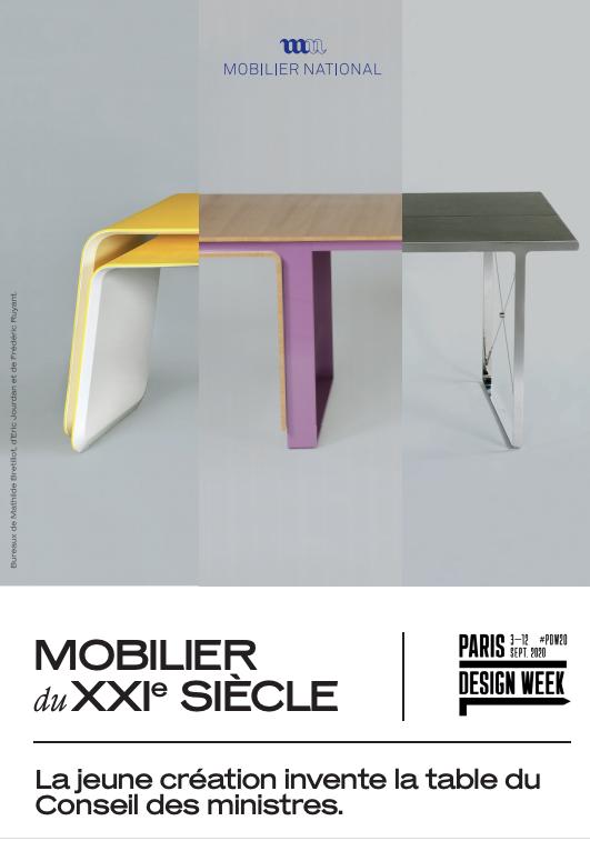 Mobilier du XXI ème siècle à la Galerie des Gobelins