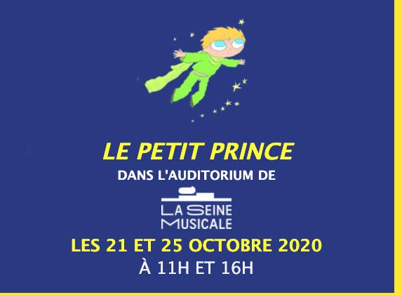LE PETIT PRINCE À LA SEINE MUSICALE