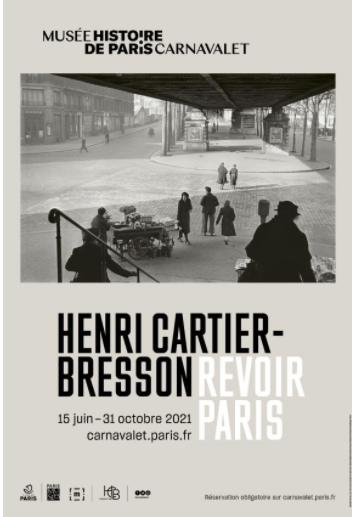 HENRI CARTIER-BRESSON – REVOIR PARIS
