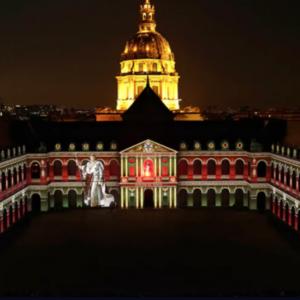 La Nuit aux Invalides , un magnifique spectacle ,le show monumental de l'été à Paris !