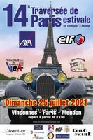 La traversée de Paris dimanche 25 juillet en voitures de collection