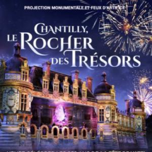 Le rocher des trésors à Chantilly, un magnifique spectacle du 17 au 20 septembre, à ne pas manquer !